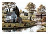Pâturage d'automne Affiches par Bill Saunders