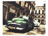 Cuban Cars II Poster by C. J. Groth