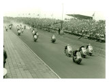 Monza Motorcycle GP Race Giclee Print
