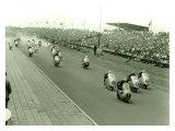Monza Motorcycle GP Race Giclee Print