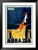 Abbazia Posters by W. Zalina