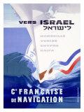 Ocean Liner, Israel Giclee Print by Noel Revest