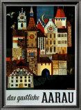 Aarau Prints by Roland Guignard