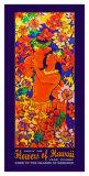 Flowers of Hawaii Kauai Giclee Print by Rick Sharp