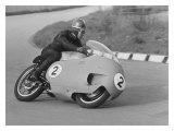 Moto Guzzi à carénage «Poubelle» Impression giclée