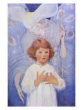 Fairy Godmother Angel Giclee Print by Jessie Willcox-Smith