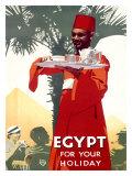 Egypt Holiday Giclée-tryk