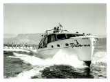 El Rancho, Las Vegas Chris Craft Ski Boat Giclee Print