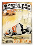 Grand Prix Roadster Race, c.1929 Giclee Print