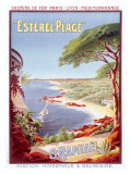 St. Raphael Beach Resort Giclee Print by Henri Gray
