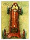 Nuvolari Alfa Romeo P3 Monoposto Giclee Print