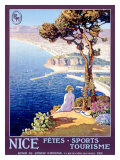 Nice Festival of Sports and Tourism Giclee Print by L. Bonamici