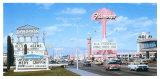 Las Vegas Strip, Flamingo Hotel Giclée-Druck