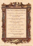 The Ten Commandments Art