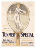 Tunmer Special Tennis Racquet Giclee Print