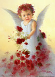 Baby Angel VII Poster by Joyce Birkenstock