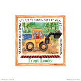 Front Loader Poster by Lila Rose Kennedy