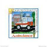 Ambulance Art by Lila Rose Kennedy