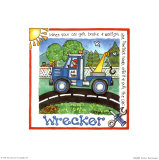 Wrecker Posters by Lila Rose Kennedy