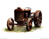 Early Model Fordson Tractor Posters by Sharon Pedersen