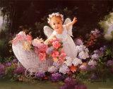 赤ちゃん天使(小) 高画質プリント : ジョイス・ビルケンシュトック