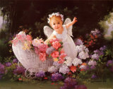 Baby Angel Posters by Joyce Birkenstock