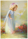 Baby Angel IV Prints by Joyce Birkenstock