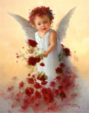 Baby Angel VII Prints by Joyce Birkenstock