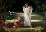 平和の天使-ミニ ポスター : ジョイス・ビルケンシュトック