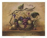 Nature morte aux raisins II Posters par Lisa White