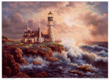 Lighting the Course Prints by Judy Gibson