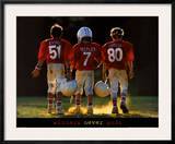 Winners Never...  Football Print
