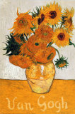 Les Tournesols Prints by Vincent van Gogh