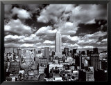 New York, New York - Sky Over Manhattan Prints by Henri Silberman