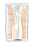 Femme debout nue II, 1946 Poster par Pablo Picasso