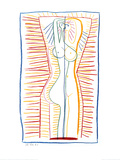 Standing Female Nude II, c.1946 Poster von Pablo Picasso