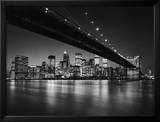 New York, New York, Manhattan Skyline Art by Henri Silberman