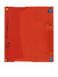 Diptychon Rot, c.1963 Serigraph by Max Ackermann