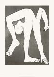 L'acrobate, 1930 Sérigraphie par Pablo Picasso