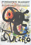 Sculptures et Ceramiques Collectable Print by Joan Miró