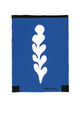 Palme Blanche Sur Fond Blue, c.1947 Serigraph by Henri Matisse