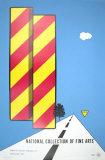 Yield, 1968 Serigrafi (silketryk) af Alan D'Arcangelo