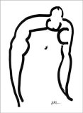 Acrobate, c.1952 Serigraph by Henri Matisse