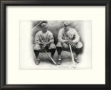 Ruth & Gehrig Art by Allen Friedlander