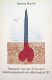 Scissors as Monument, 1968 Collectable Print by Claes Oldenburg