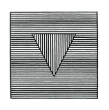 Triangle, c.1980 Serigraph by Sol Lewitt