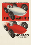 Monaco Grand Prix, 1959 Collectable Print