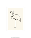 Der Flamingo Serigrafie von Pablo Picasso