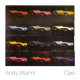 Formula 1 Car W196 R, 1954 Collectable Print by Andy Warhol