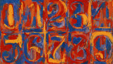 Zero-Nine, Jasper Johns, Art Print